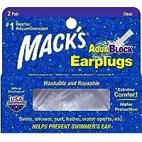 Protetor Auricular Mack's Aquablock para Natação Cor:branco