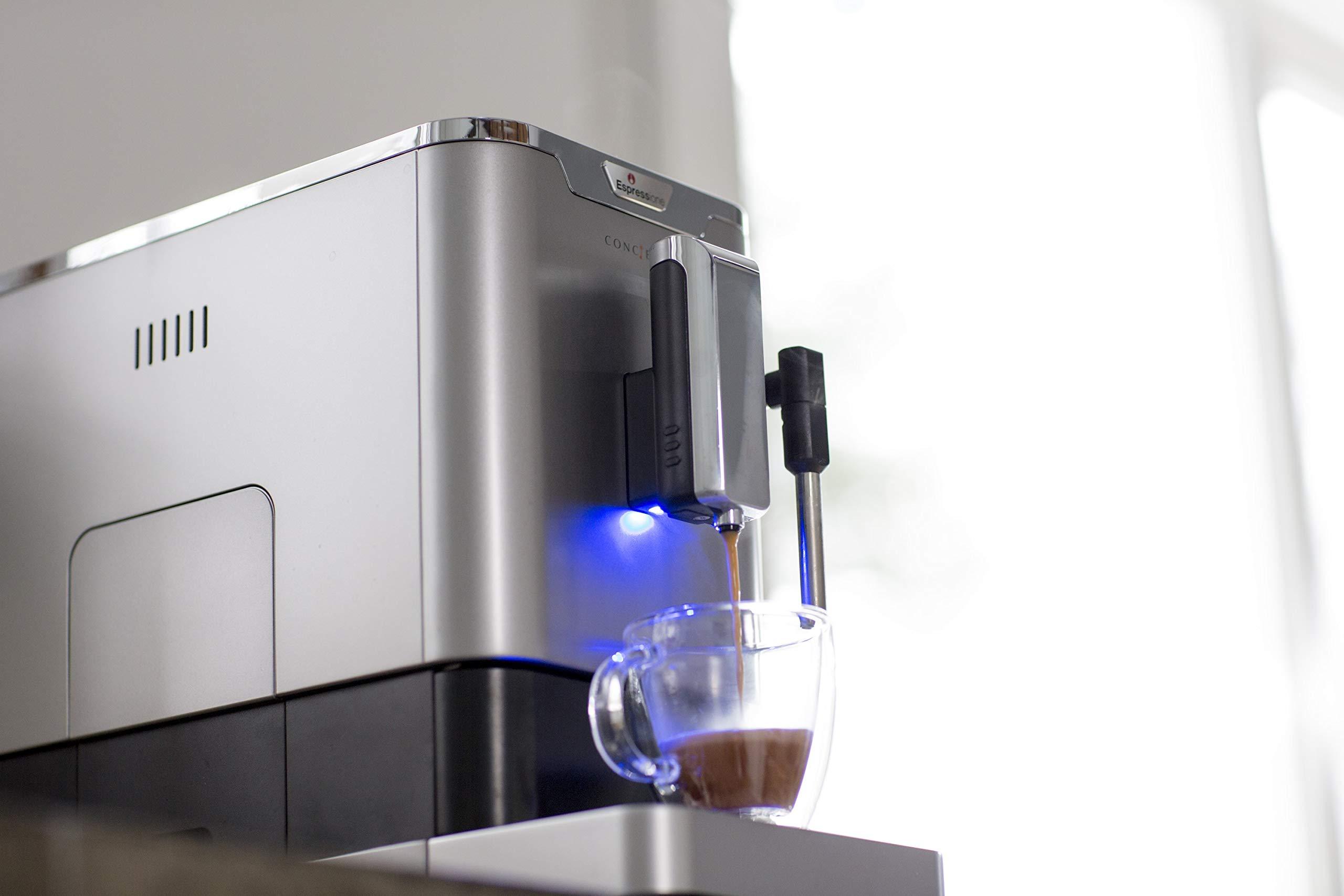 Espressione 8212S Fully Automatic Espresso Machine Silver by Espressione (Image #5)