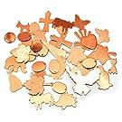 Efco 100g Pack of Assorted Copper Blanks