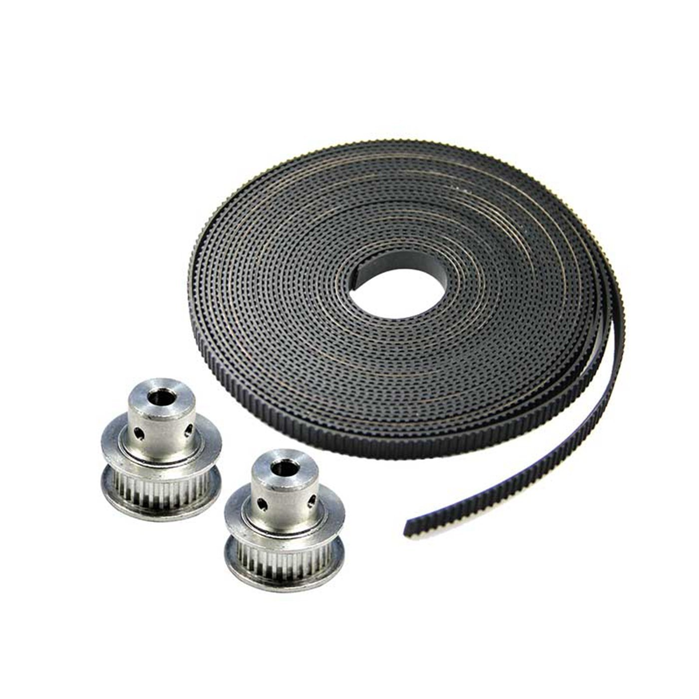 FEBNISCTE 10 Meters GT2 timing belt width 6mm Fit for RepRap Mendel Rostock Prusa GT2-6mm Belt FBMNU00432