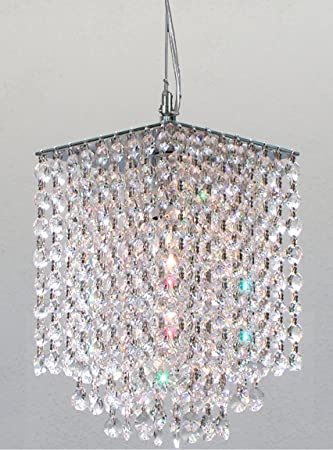 Modern Contemporary Crystal Pendant Chandelier Lighting H 9quot