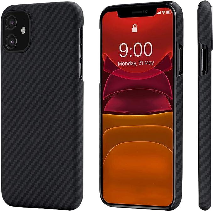 Pitaka Magez Case Ultradünn Magnetische Hülle Für Iphone 11 6 1 Handyhülle Aus Aramidfaser Schutzhülle Stoßfest