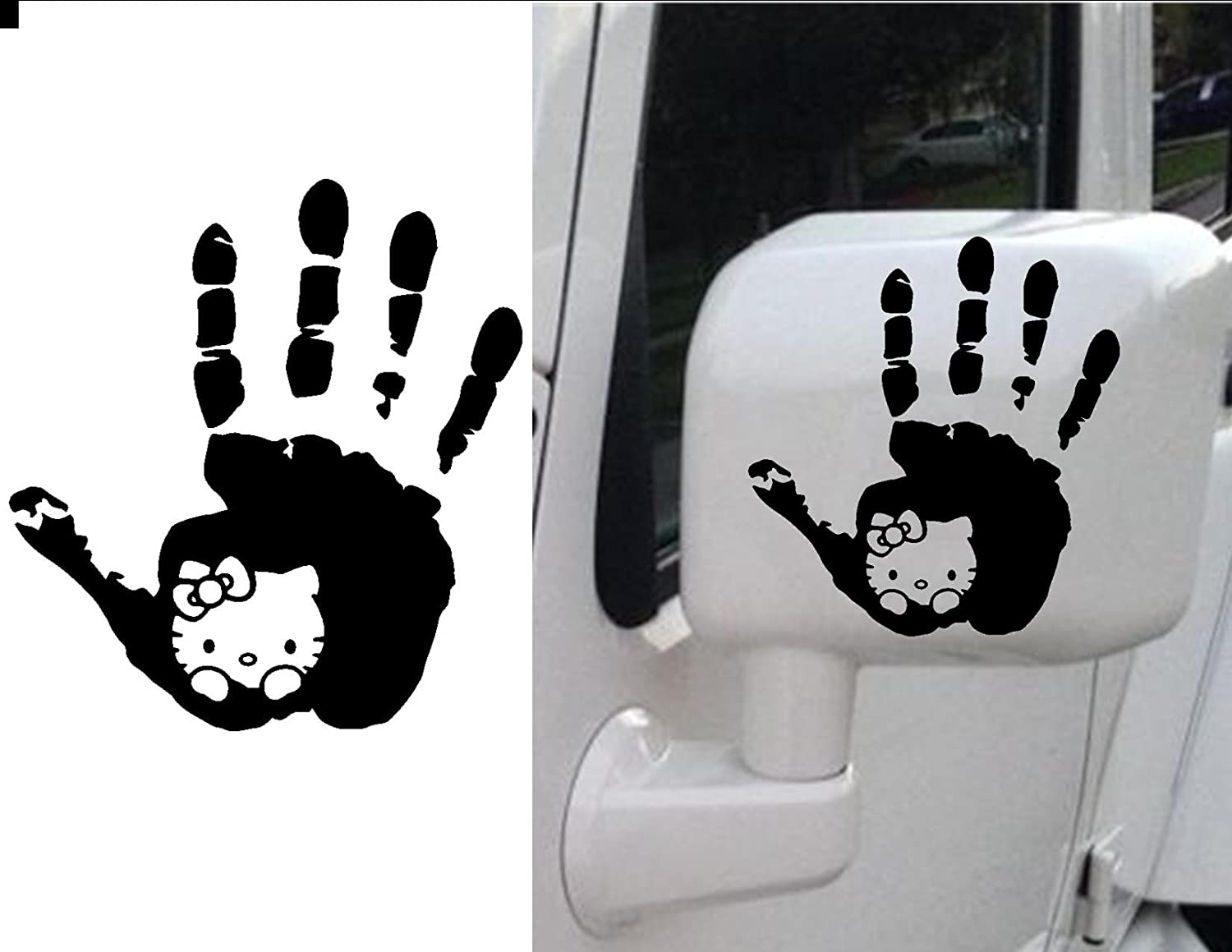 fc9d6bd02 Hello Kitty Jeep Wave Hand PINK PREMIUM Decal 5