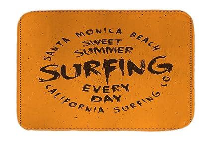 Cama Perro Viaje Por El Mundo Santa Monica Beach impreso 40x60 cm