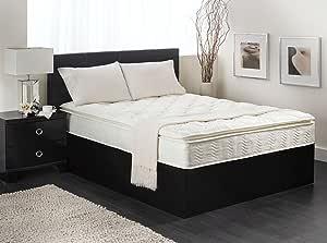 Textrade USA Inner Spring Pillow Top Mattress in A Box, Queen