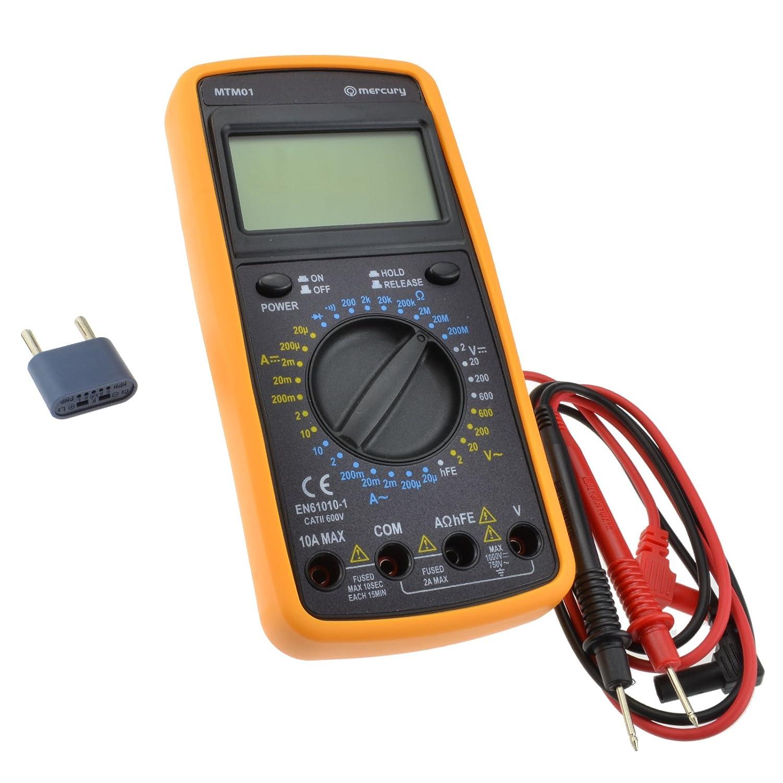 Kenable Professional Digital Multitester 32 Testing Electronics Mercury Multimeter Circuit Tester Mtm01