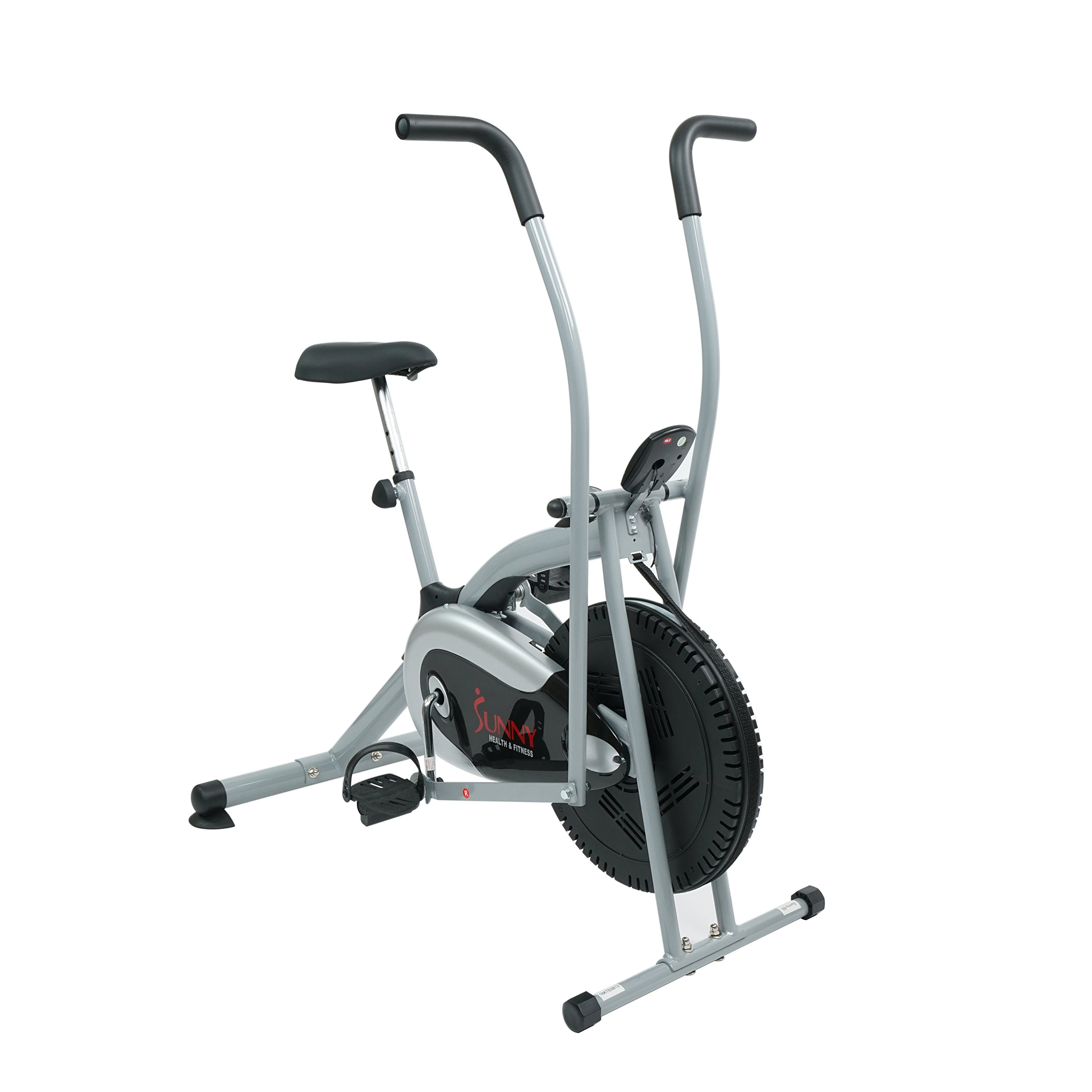 Sunny Health & Fitness SF-B2621 Cross Training Fan Upright Exercise Bike w/ Arm Exercisers by Sunny Health & Fitness (Image #2)