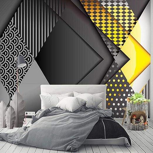 Nxmrn 3d Abstrait Motifs Géométriques Imprimés Peintures