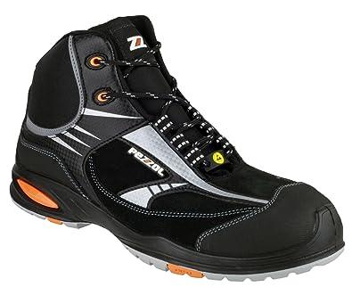 Pezzol - Zapatos de Seguridad Hombre, Color Negro, Talla 35 ...