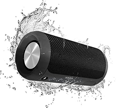Altavoz Bluetooth Kinnor 12 W altavoz estéreo portátil Bluetooth 4.2 caja de altavoz de sonido 15