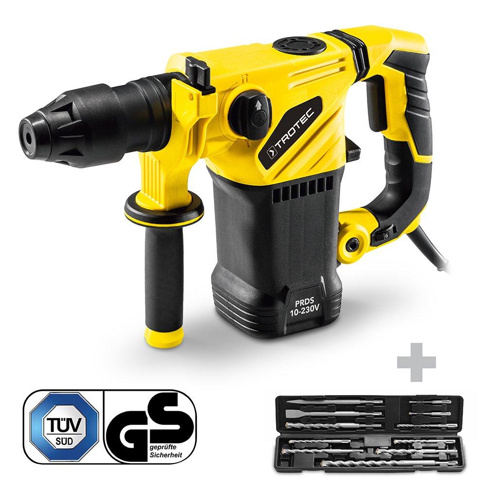 TROTEC Bohrhammer PRDS 10-230V + Verlä ngerungskabel 15m