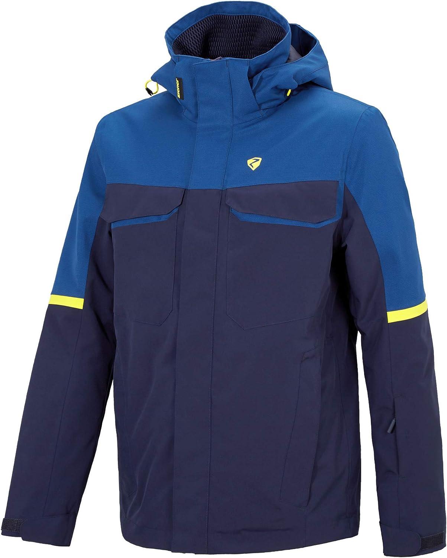 Ziener Herren TOGIAK jacket Ski Snowboard-Jacke//atmungsaktiv Black camo wasserdicht 46