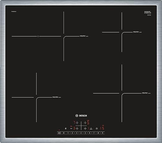 Bosch Serie 6 PIF645FB1E hobs Negro, Acero inoxidable Integrado ...
