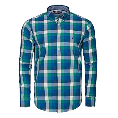 110a78e0 Tommy Hilfiger New York-Fit Shirt: Amazon.co.uk: Clothing
