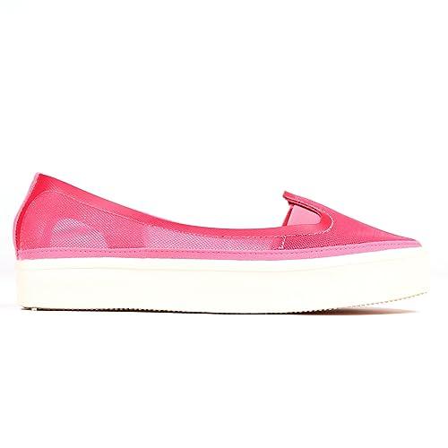adidas - Mocasines de Material Sintético para Mujer Rosa Rosa: Amazon.es: Zapatos y complementos