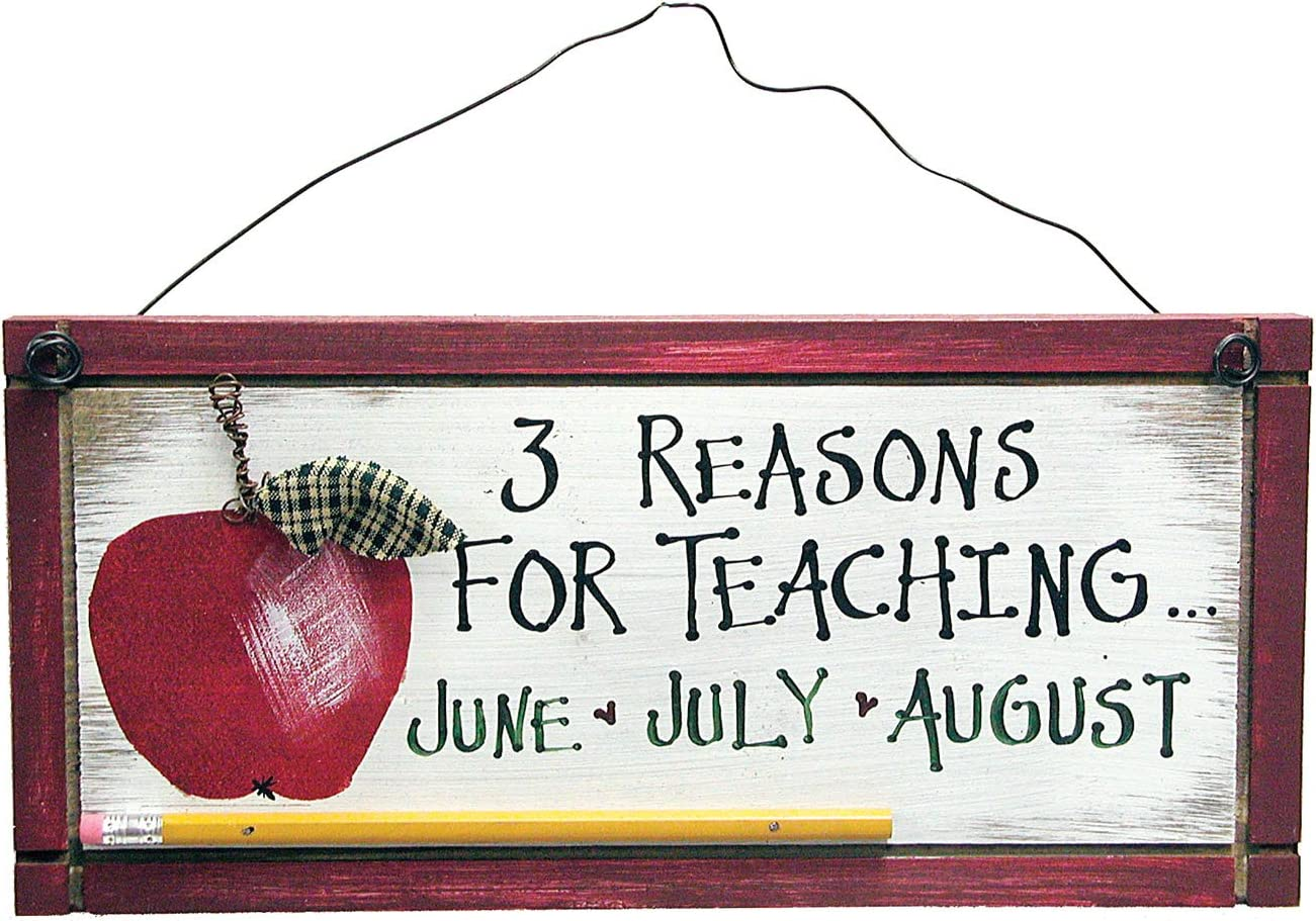 Ohio Wholesale Reasons to Teach Sign Wall Art, from our Apples Collection