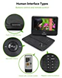 FOYU Portable DVD Player with Swivel Angle