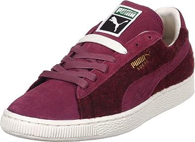90d01a4e587a Puma Suede City Menswear Sneaker Cabernet White  Amazon.co.uk  Shoes ...