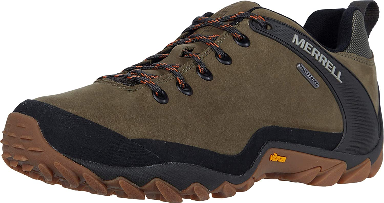 Merrell Mens Chameleon 8 Leather Waterproof Hiking Shoe