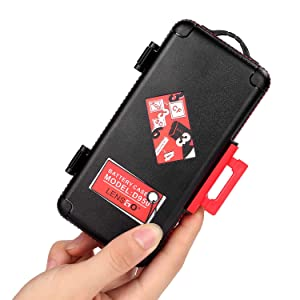 Professional Memory Card Case Water-Resistant Anti-Shock SD XQD CF Compact Flash Camera Battery AA | Media Storage Holder Organizer Photography Accessories