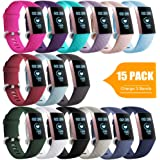 GEAK Sport Bands for Fitbit Charge 4/Fitbit Charge 3/Charge 3 SE, Waterproof Accessories Compatible with Fitbit Charge 3…