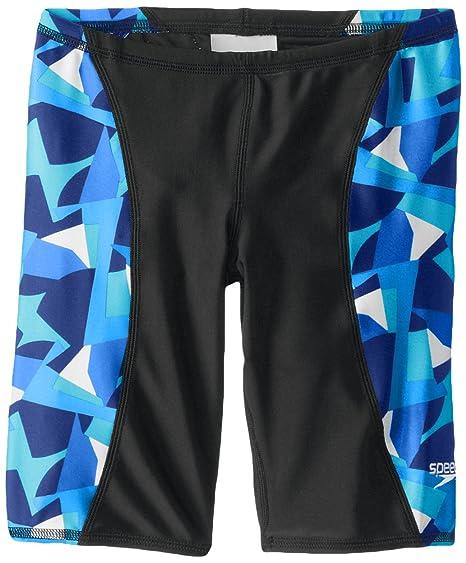 51b03e397c504 Amazon.com : Speedo Big Boys' Echo Youth Jammer Swimsuit : Sports ...