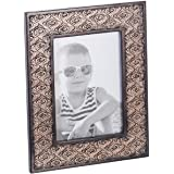 Dublin 5 X 7 Picture Frame - Wall and Table Desktop Photo Frame Display with Glass Front & Easel Back, Decorative Decals…