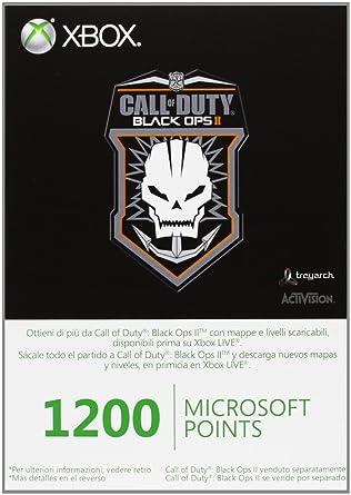 Microsoft - Tarjeta De 1.200 Puntos, Call Of Duty: Black Ops ...