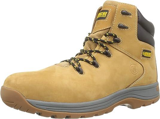 TALLA 45.5. Sterling Safetywear - Calzado de protección de Cuero para Hombre