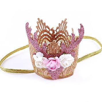 Baby Girl Elk Christmas Head Accessories