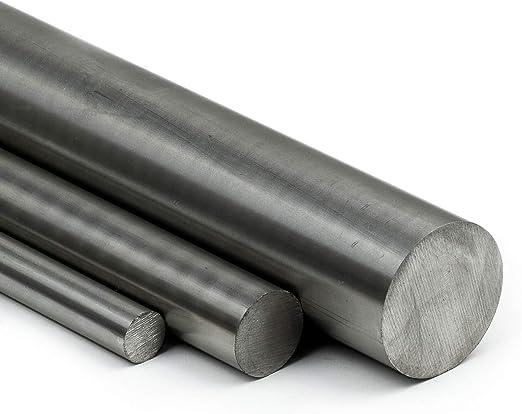 L: 25mm 2,5cm Zuschnitt Edelstahl Rundstab VA V2A 1.4301 blank h9 /Ø 14 mm