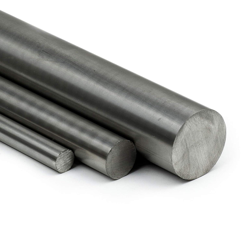 L: 500mm 50cm Zuschnitt Edelstahl Rundstab VA V2A 1.4301 blank h9 /Ø 28 mm