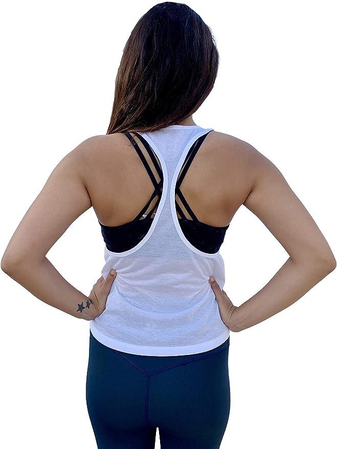 Amazon.com: Clever Yoga Yoga Tops para las mujeres holgado ...