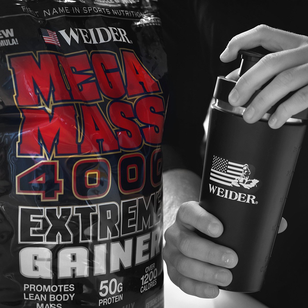 Weider Megamass 4000 Extreme Gainer - Our Best Selling Gainers - 50 Grams of Protein per Serving - Over 1,200 Calories - Over 250 Grams of Carbs by Weider (Image #3)