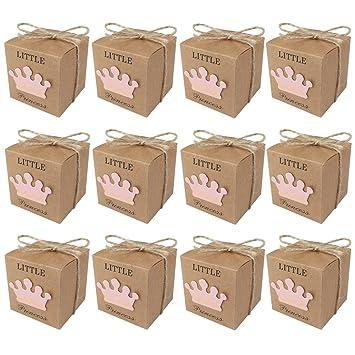aytai Pack de 50 cajas de caramelos regalo para el bebé ...