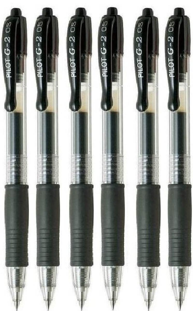 Pilot G2 Black Retractable Rollerball Pen Pens Extr [0MBL5AMY]