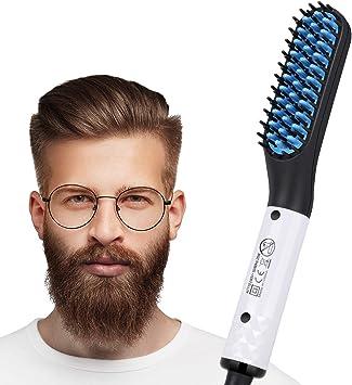 Cepillo alisador eléctrico para barba o cabello, herramientas ...