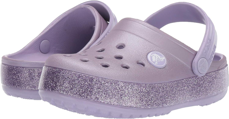 Sabots Mixte Enfant Crocs Crocband Glitter Clog Kids