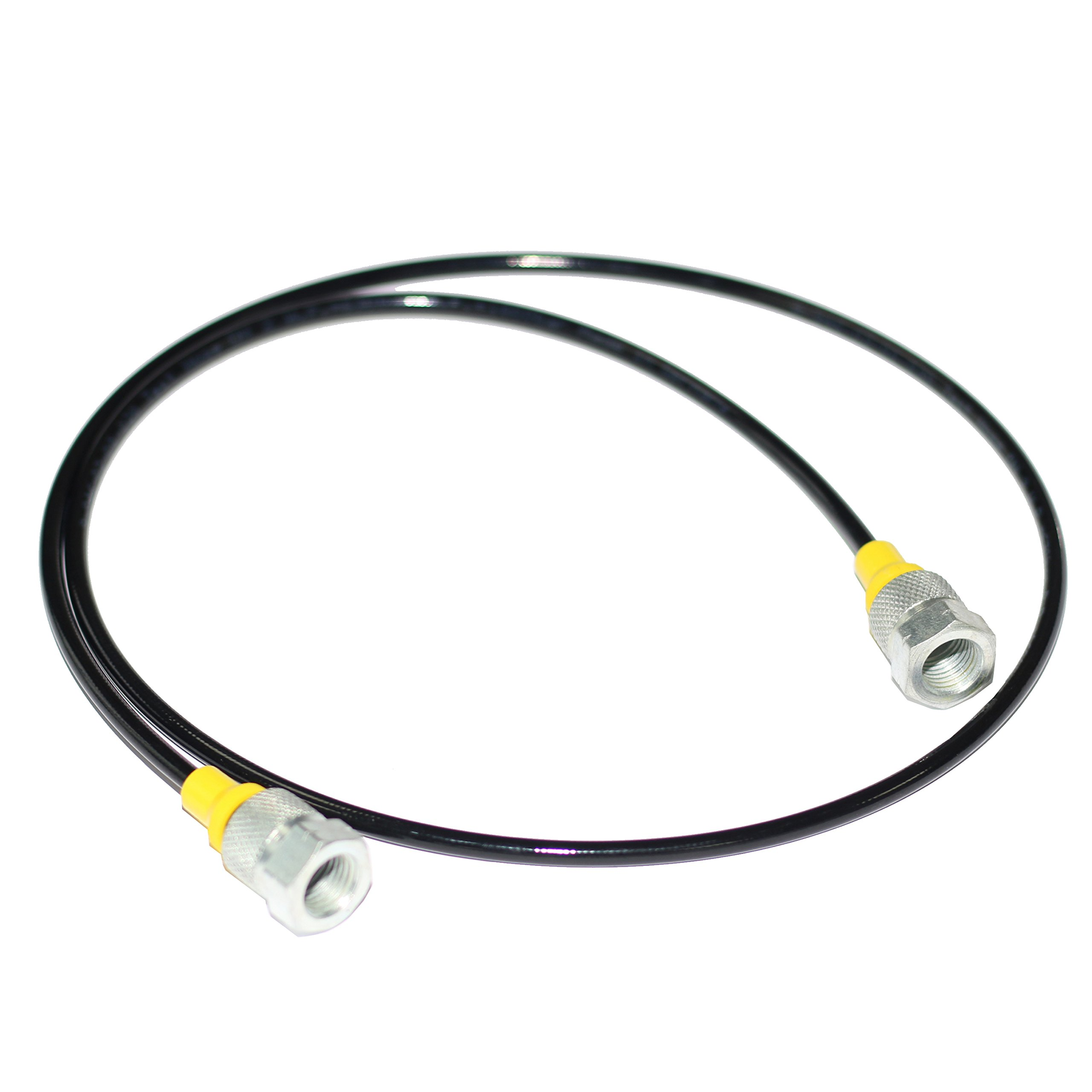 XZT NPT-NPT 9000PSI/630BAR Hydraulic Pressure Test Hose,Test couling Hose (3FT/1m) by XZT