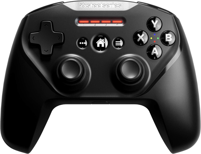 SteelSeries Nimbus+, Controlador de Juegos inalámbrico, Recargable, para iPhone / iPad / iPod / Apple TV