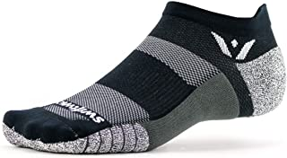product image for Swiftwick- FLITE XT ZERO Non-Slip Running Socks, Golf Socks, Ultimate Stability