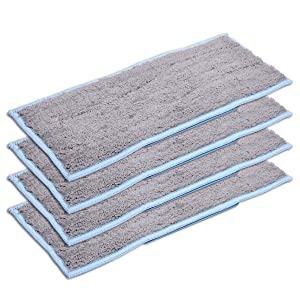 KEEPOW 4 Pack Washable Wet Pads for iRobot Braava Jet M6 Replacement