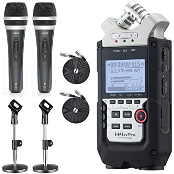 reliable Zoom H4N Handy Recorder Bundle