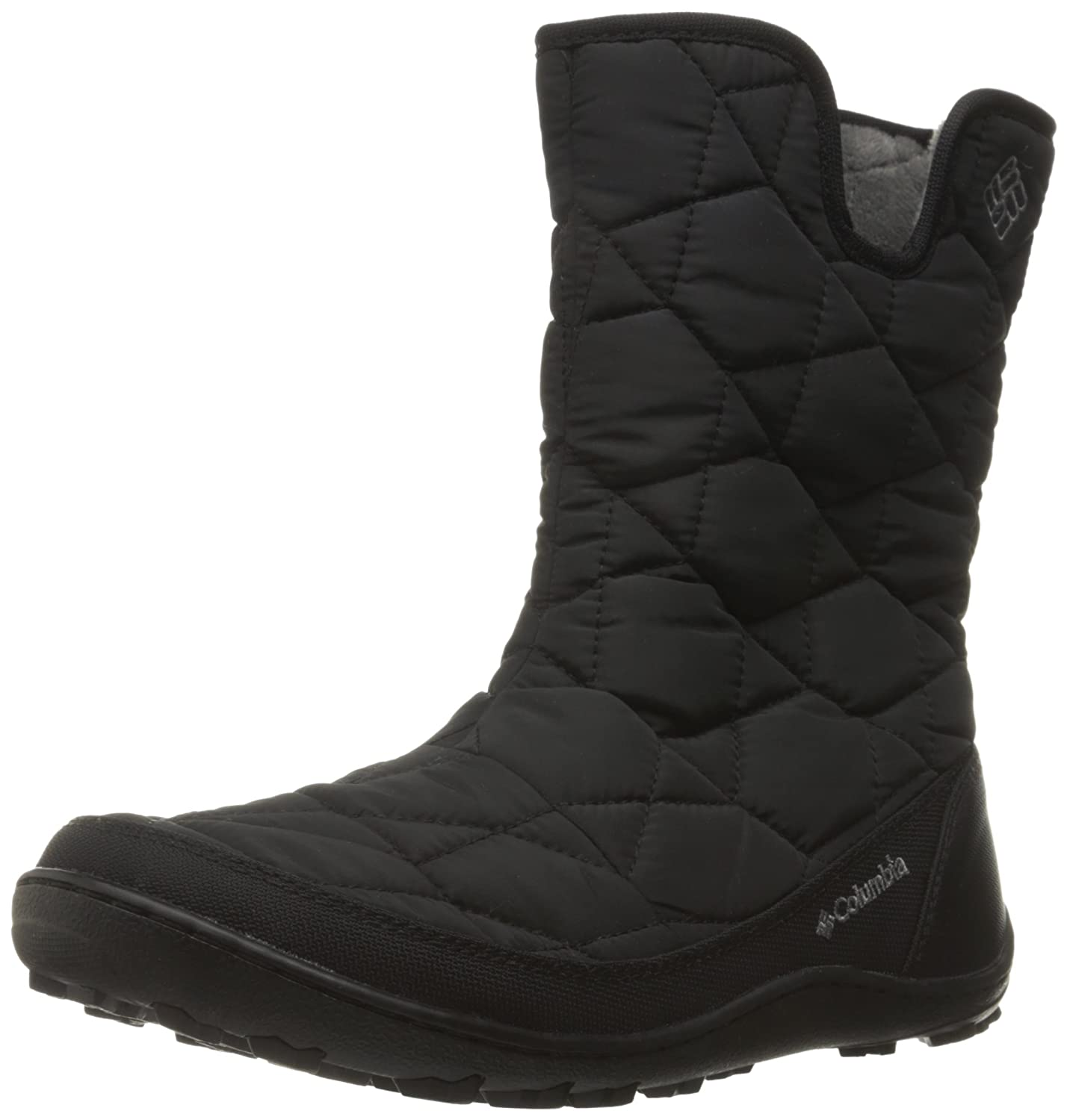 Columbia Women's Minx Slip Ii Omni-Heat Snow Boot B0183OL3N2 9 B(M) US|Black, Quarry