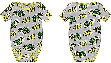 774e1763bde VR46  Body bébé Kid Valentino Rossi Tarta 46 TG. 6 Mois. Passez la souris  sur ...