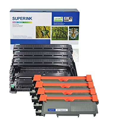 superInk (3 tambor + 4) de tóner nuevo compatible con Brother ...