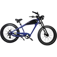 CIVI BIKES Vintage Electric Bike Fat Tire Sport Bicycle 750W café Racer 7-Speed Gear 48V 13AH Battery with Max Speed to 28 MPH