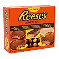REESES Valentines Chocolate Peanut Butter Variety Pack 30 Count Deals