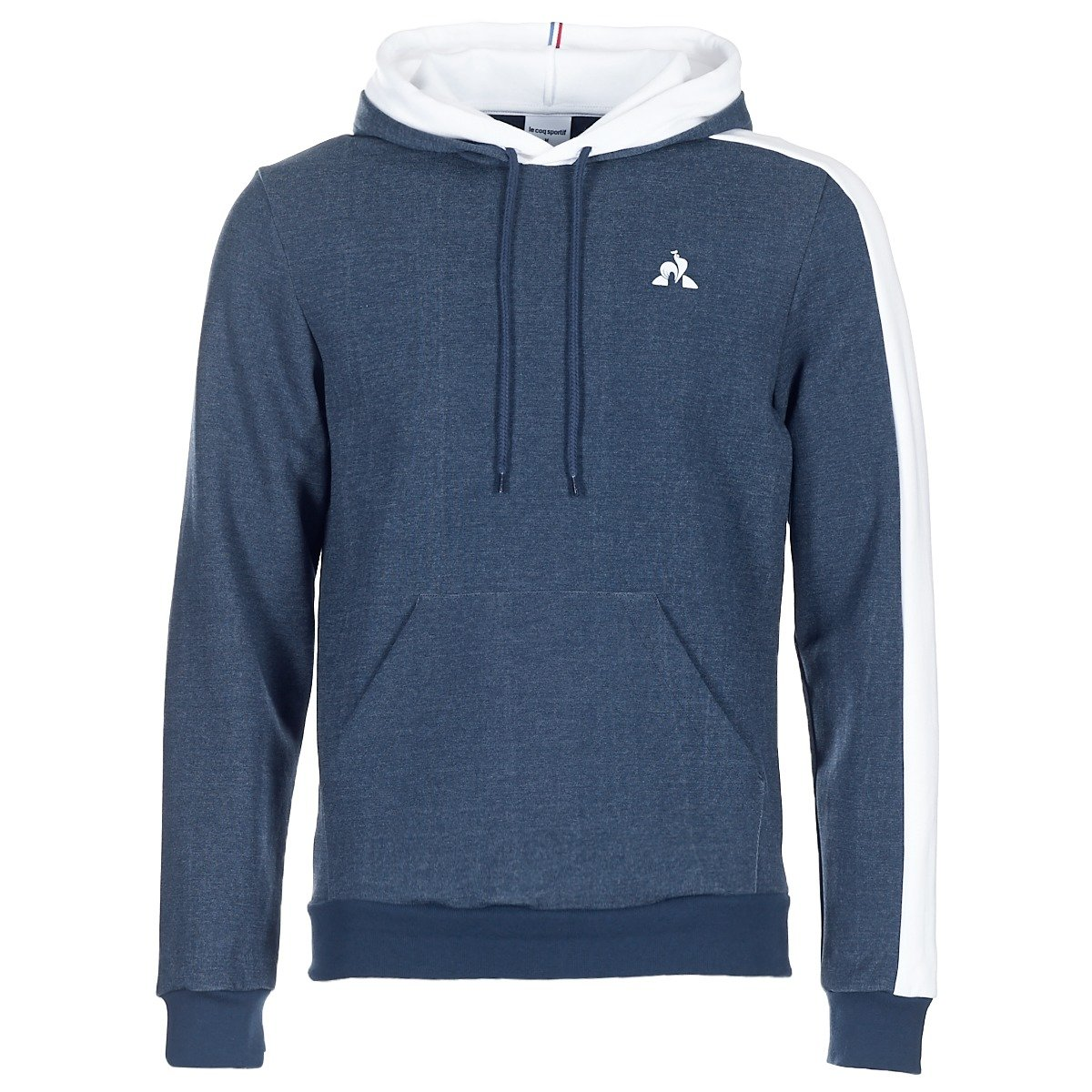 Le Coq Sportif  Herren ESS Hoody Denim Marine Sweatshirts