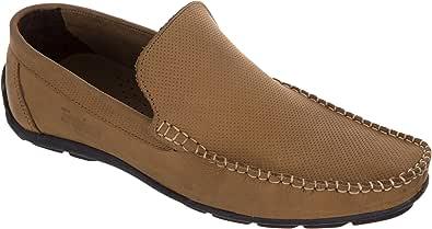 تروجان حذاء سهلة الارتداء بني -رجال